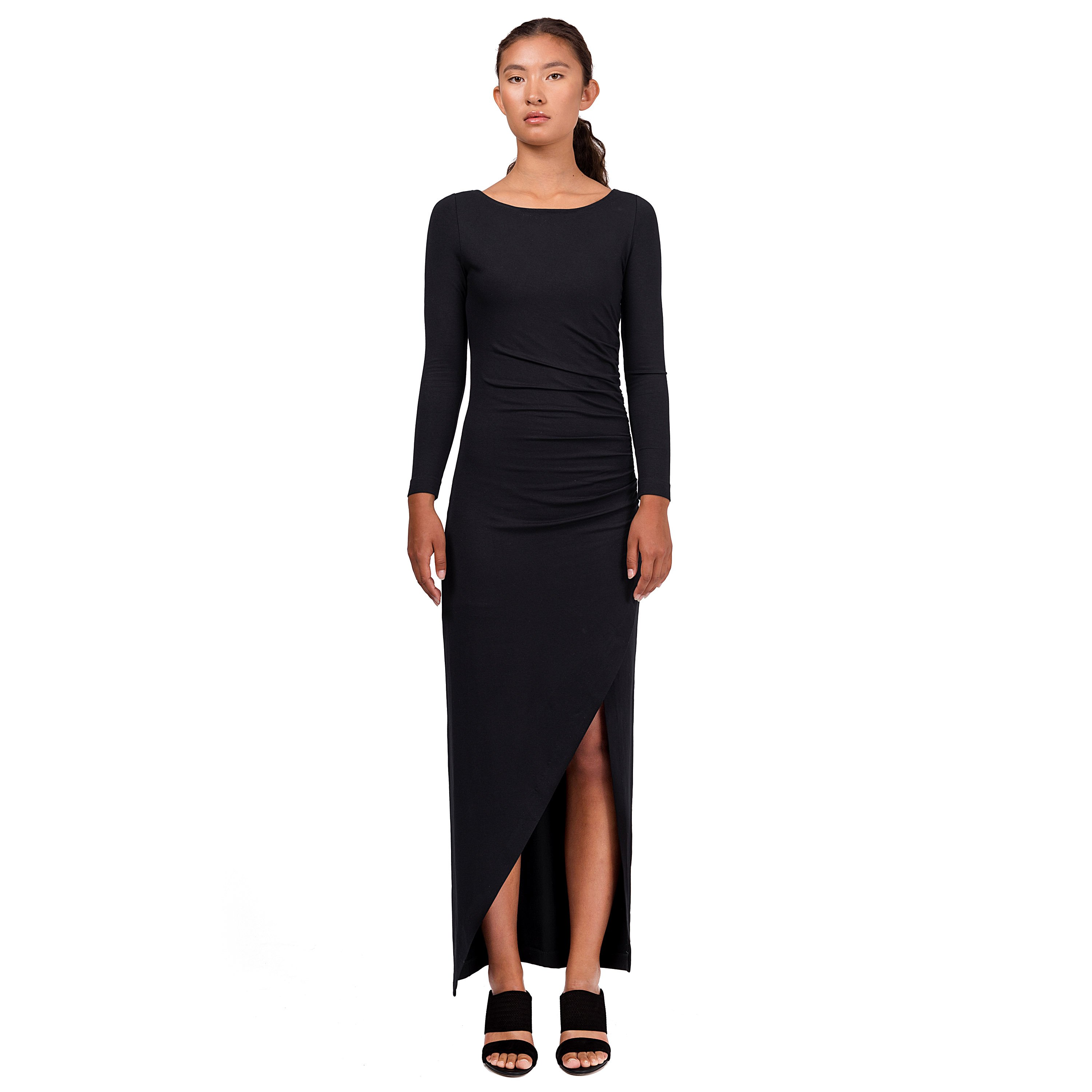 618eb9eaf509 ARIANA Dress in black - Residus Official - Worldwide Shipping
