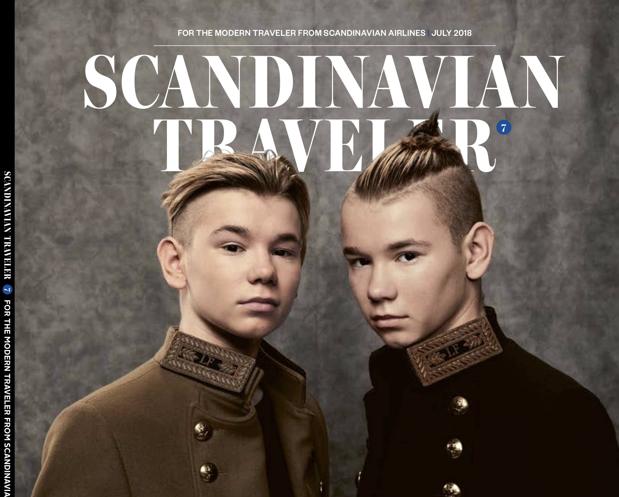 Scandinavian Traveler magazine cover