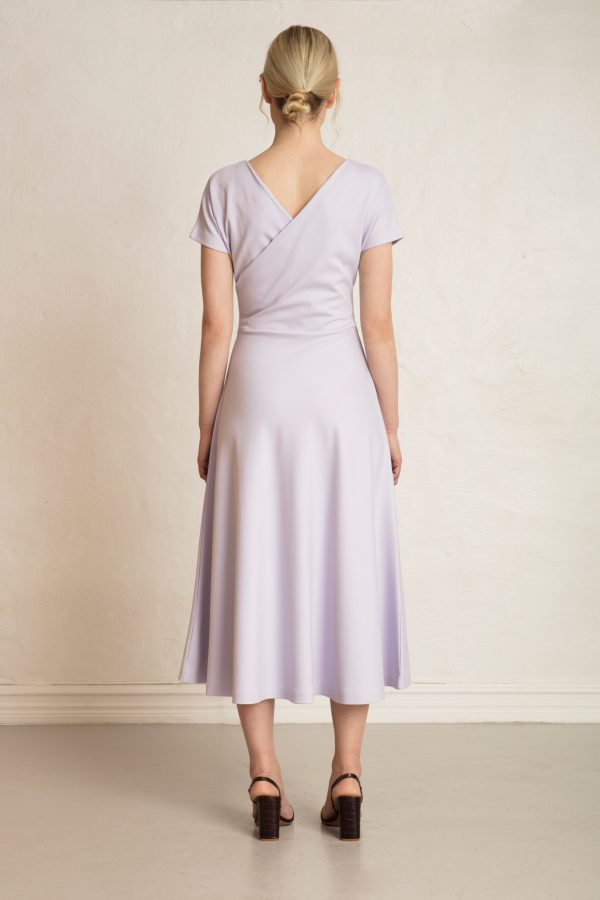 Anis Ecovero Dress from the back