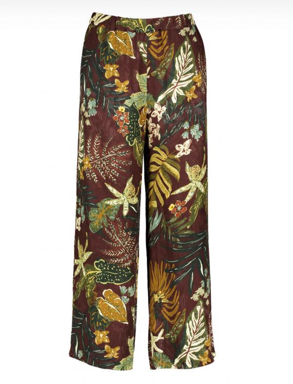 Rain cinnamon silky pyjama pants