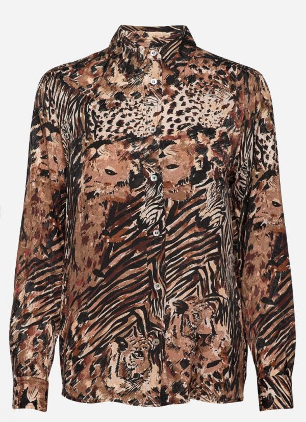 Winona mole silky pyjama shirt