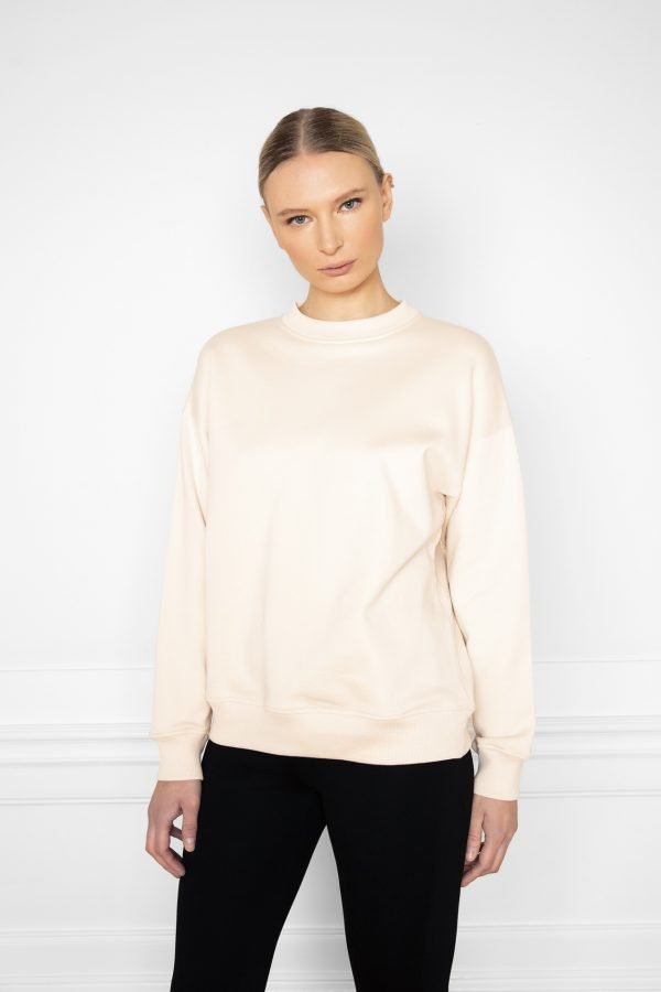 Ricon White Sand Sweatshirt from the front