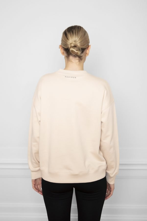 Ricon White Sand Sweatshirt from the back